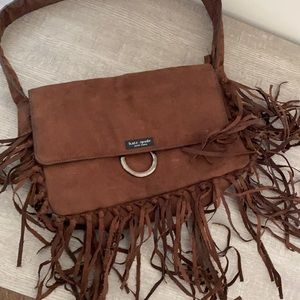 Fringe purse not Kate spade and not selling it as one